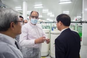 La instalación de Sae-A Spinning reafirma la competitividad de Costa Rica en la región