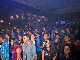 Unas 200 personas llegaron  a los shows más importantes