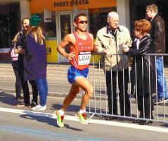 César Lizano no logró la meta de clasificarse a los Juegos Panamericanos de Toronto ayer en Londres