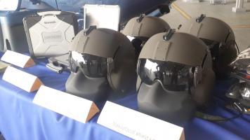 Cascos especializados son parte de lo donado por la embajada estadounidense