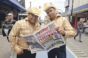 Danny González y Óscar Campos visitaron DIARIO EXTRA