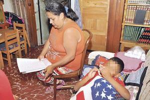 La madre del pequeño interpuso la denuncia ayer ante el MEP