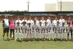 Cartaginés U-15 disputará hoy la ida ante Alajuelense en la cancha de Dulce Nombre de Cartago. (Foto: Carlos Barquero)