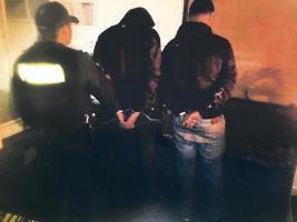 Los jóvenes son sospechosos de conformar una estructura narco