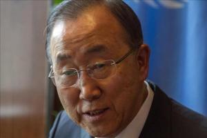 La ONU llama a terminar con la fístula obstétrica y la marginación que genera El secretario general de la ONU, Ban Ki-moon. EFE/Archivo