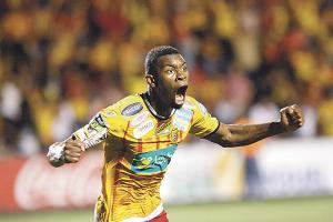 Keyner Brown gritó a todo pulmón el gol del empate en el cierre de los tiempos extra