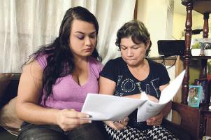 Doña Elizabeth y Sianny esperan que la ley no las desampare