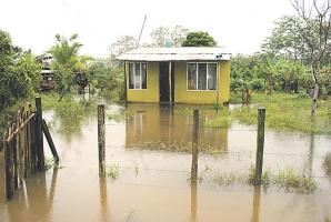 La comunidad de El Millón, ha sido de las más afectadas