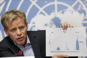 El máximo responsable de la Organización Mundial de la Salud (OMS), Bruce Aylward