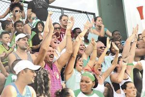 Para ver todos los partidos de La Tromba en el estadio Juan Gobán durante el año hay que pagar ¢84 mil
