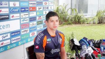 Retomar su nivel futbolístico y lograr la Copa Oro son los objetivos de Cristian Gamboa