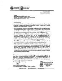 El Ministro Arauz, desmintió que su esposa iniciará el estudio que generó la medida restrictiva para el aguacate mexicano