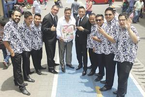 Alfredo Pantoja y su grupo, tocan todas las canciones de Cañaveral