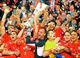 El Sevilla celebra el bicampeonato en la Europa League