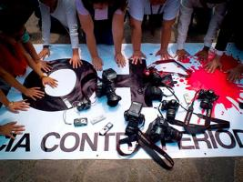 Según datos de Reporteros Sin Fronteras, el año pasado asesinaron a 66 periodistas en Sudán del Sur, Irak, Yemen, Ucrania y  Siria, entre otros países
