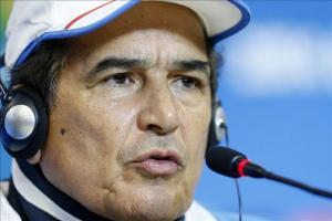 El seleccionador de Honduras, el colombiano Jorge Luis Pinto