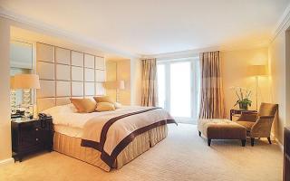 En un cuarto similar a este estaban Li y su novia. En la imagen una suite del Hotel Baur Lac de Suiza.