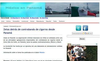 Según publicaciones de diferentes medios internacionales, son los Zetas de México, quienes se encargan del negocio.