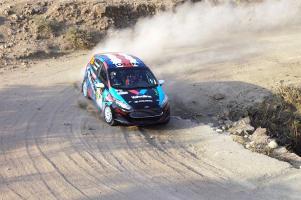 Andrés Molina y Eduardo Corrales buscarán hacer podio hoy en el Nacam Rally Championship