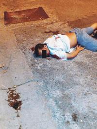 El muchacho recibió dos impactos de escopeta la noche del jueves