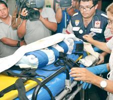 El bebé de tan solo 7 días ingresó muy delicado al Hospital Nacional de Niños