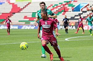 El lateral izquierdo Irving Calderón es uno de los juveniles que han tenido buen paso durante la gira a México. (Fotos: Prensa Saprissa)