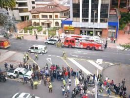 Decenas de personas fueron evacuadas