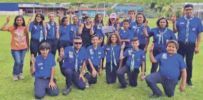 Cientos de personas se esperan hoy en el Polideportivo  en Monserrat de Alajuela, quienes celebrarán los 100  años del Movimiento Guías y Scouts en Costa Rica