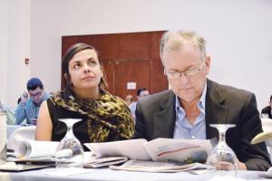 Los legisladores Marcela Guerrero y Ottón Solís son parte del primer Congreso de Movilidad Urbana