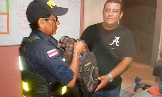 José Enrique Vallejos Vallejos devolvió la mochila