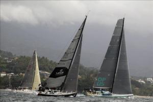 El mayor campeonato de vela oceánica de Latinoamérica da el disparo de salida Fotografía de este sábado 4 de julio de 2015 durante la salida de velero de la Regata Alcatrazes en la apertura de la 42ª