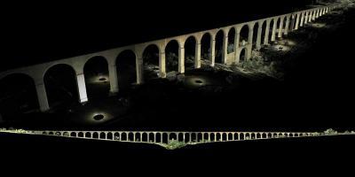 Ingresa en lista de Unesco el Acueducto del Padre Tembleque de México Digitalización de la arquerías del acueducto del Padre Tembleque, ubicado en el estado mexicano de Hidalgo. EFE/INAH/Archivo/Solo