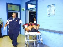 Al nicaragüense lo dejaron gravemente herido durante el asalto