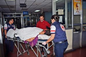 Villalobos resultó gravemente herido tras el accidente
