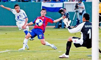 Costa Rica cumplió en el debut de hace dos años tras golear 3-0 a Cuba en Portland