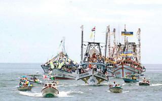 El domingo 70 pescadores acompañarán a la Virgen del Carmen durante el recorrido que hará por las aguas del Pacífico
