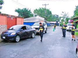 La víctima viajaba en un Toyota Yaris negro al momento del tiroteo