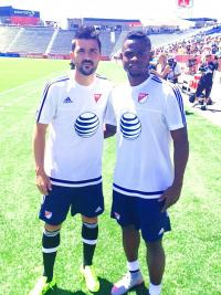 Waylon Francis jugará esta noche junto a David Villa, y otras figuras, el Juego de las Estrellas de la MLS (Foto: cortesía Futbol Consultants)