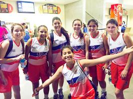 Las ticas fueron superadas en baloncesto por las egipcias a pesar de su rapidez