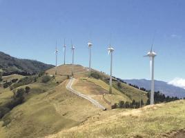 El Parque Eólico Valle Central produce una de las energías más caras en el país, de acuerdo con la Contraloría