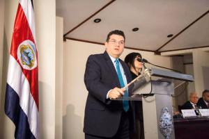 Sergio Alfaro asumió como ministro de la Presidencia en lugar de Melvin Jiménez