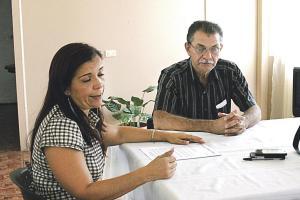 Tanto Susan Quirós como Édgar Morales, de UNT, darán 15 días para que el ministro Carlos Segnini los atienda