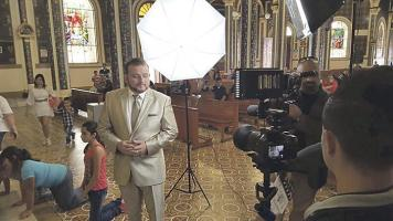 Le dieron permiso para grabar en el templo de la patrona de Costa Rica