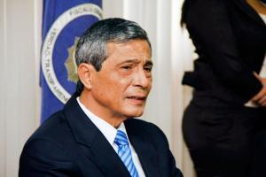 Jorge Chavarría, fiscal general de la República