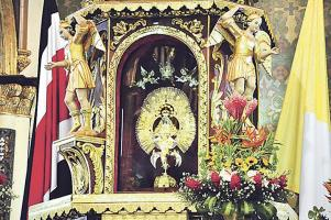 La Virgen de los Ángeles, Patrona de Costa Rica.