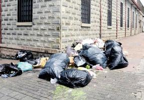 La mayoría de las municipalidades falla en la recolección de basura