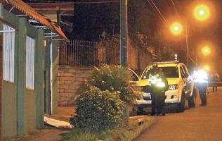 La Fuerza Pública vigiló que la escena no fuera contaminada