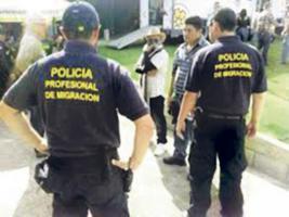 La Policía de Migración se beneficiará con ¢1.200 millones