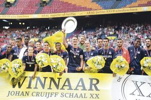 El PSV logró su décimo título, con el que suma dos más que el Ajax. (Foto: EFE)