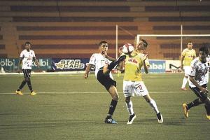 Belén y Liberia no pasaron anoche del empate y debieron conformarse con un punto al igualar 1-1